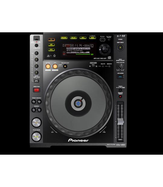 DJ CD atskaņotājs Pioneer CDJ-850-K